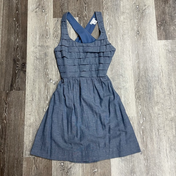 Urban Outfitters cotton cut-out dress, size XS.